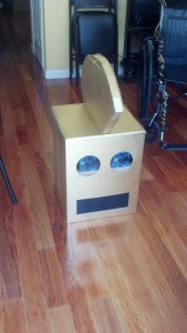 Boxhead with a mohawk!